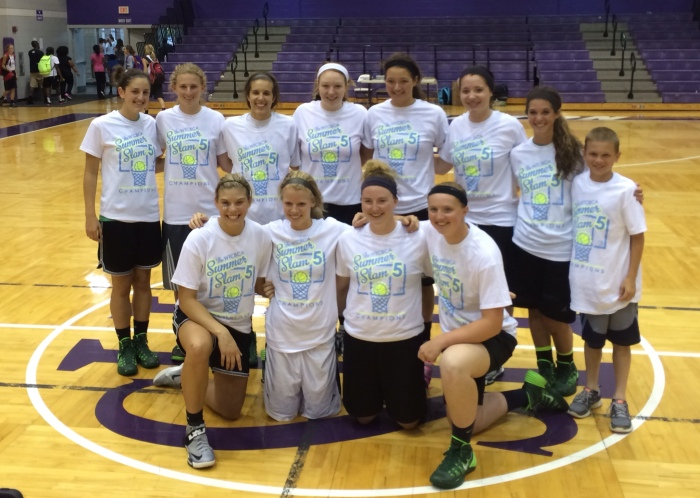 Barberton Shootout Champs - Wins over Jackson, Walsh Jesuit, Kent Roosevelt, Nordonia, and Ravenna.